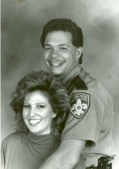 Sgt. John Colter with his wife Anita