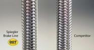 Spiegler brake line weave