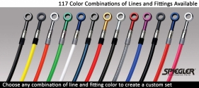 Spiegler brake line color options