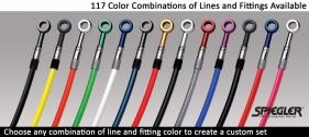 Spiegler brake line color options