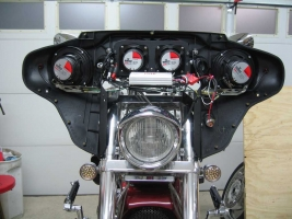 Harley batwing fairing project