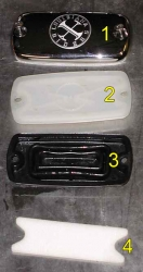 Master cylinder cover parts