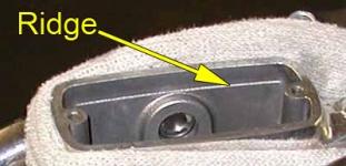 Master cylinder fill line