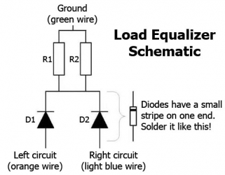 Load equalizer schematic