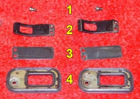PAIR valve gasket plate parts