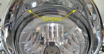 Headlight screws