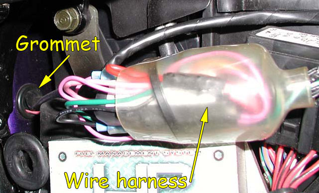 grommet rear fender removal (vtx) bareass choppers motorcycle tech pages 2006 honda vtx 1300 wiring schematic at virtualis.co