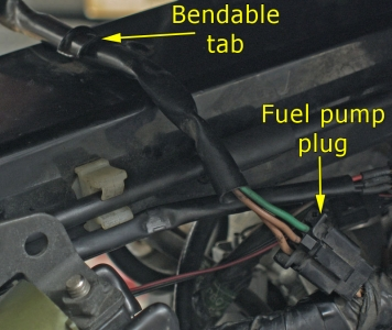 Fuel pump electrical connector