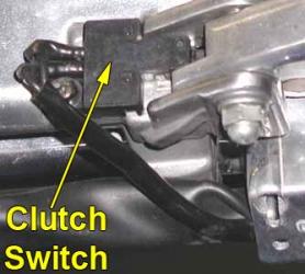 Clutch safety switch