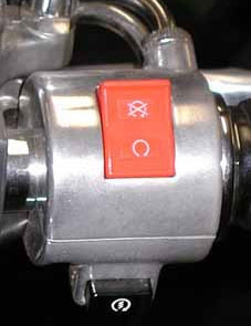 Right switch housing
