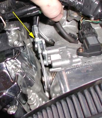10mm throttle cable adjusting nut