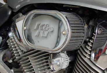 Duc's DIY intake and crankcase breather