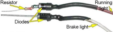 Run/brake circuit