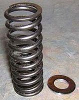 Fork Spring Replacement Vtx 1800 171 Bareass Choppers
