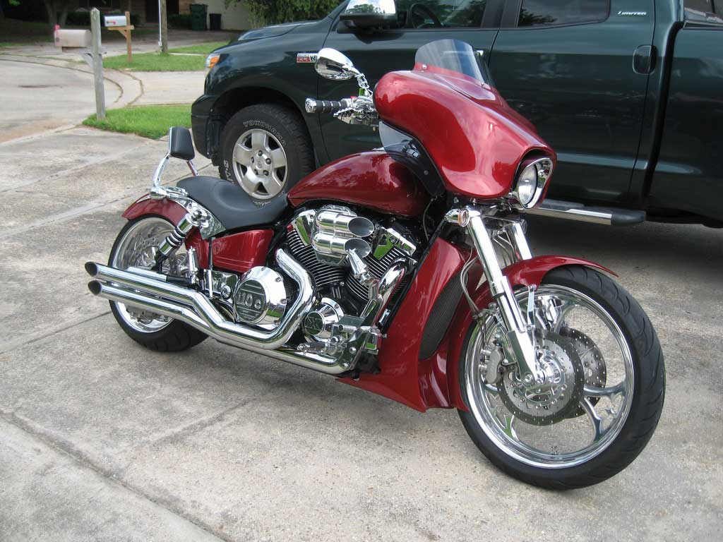 VTX batwing fairing « Bareass Choppers Motorcycle Tech Pages
