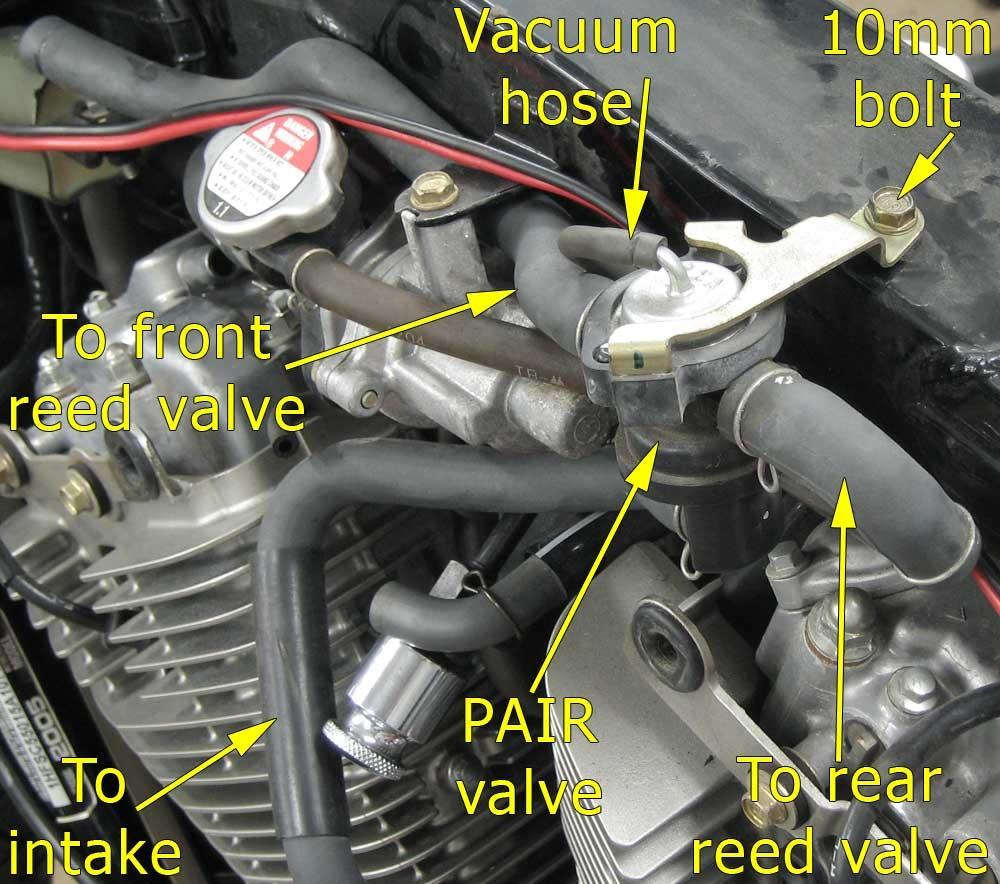 vtx 1300 desmog « bareass choppers motorcycle tech pages vtx 1800 engine diagram vtx 1800 wiring diagram