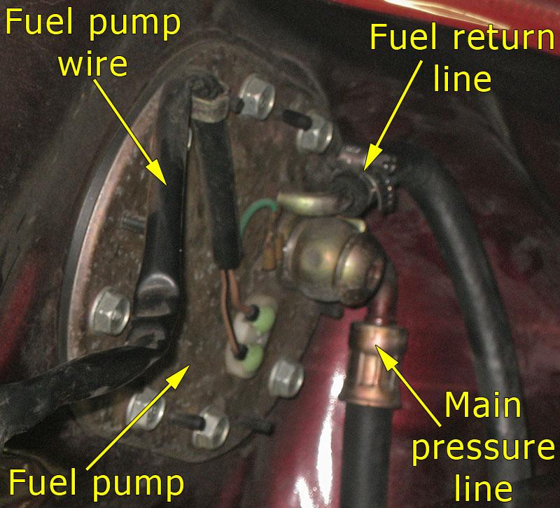 internal fuel pump backside